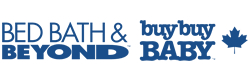 Get cash back when you shop online at Bed, Bath & Beyond + Buy Buy Baby (CA)!