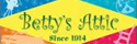 Get cash back when you shop online at Betty's Attic!