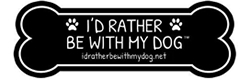 Get cash back when you shop online at I'd Rather Be With My Dog!