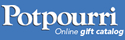 Get cash back when you shop online at Potpourri!