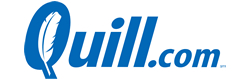 Get cash back when you shop online at Quill!