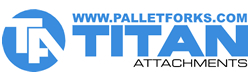 Titan Attachments - Pallet Forks