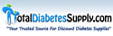 Get cash back when you shop online at Total Diabetes Supply!