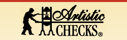Get cash back when you shop online at Artistic Checks!